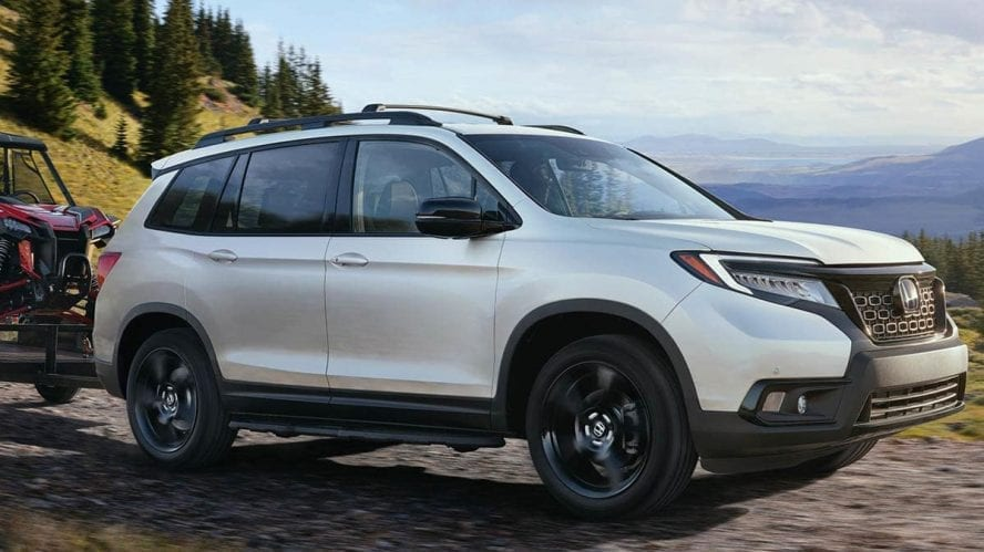 Honda Passport returns as a ruggedly styled, 5-passenger SUV