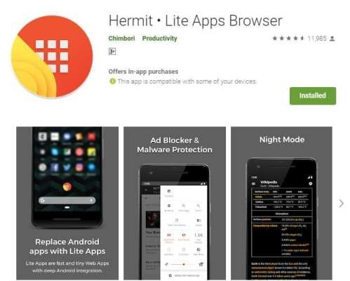 Best Lite Android Browsers