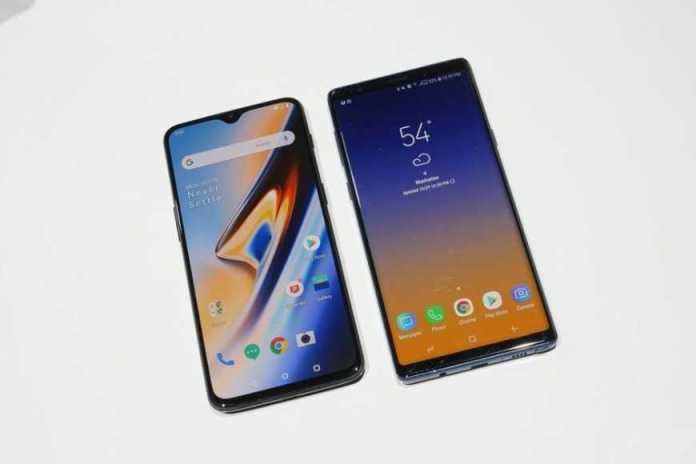 OnePlus 6T vs Samsung Galaxy Note 9 first look 5 of 11