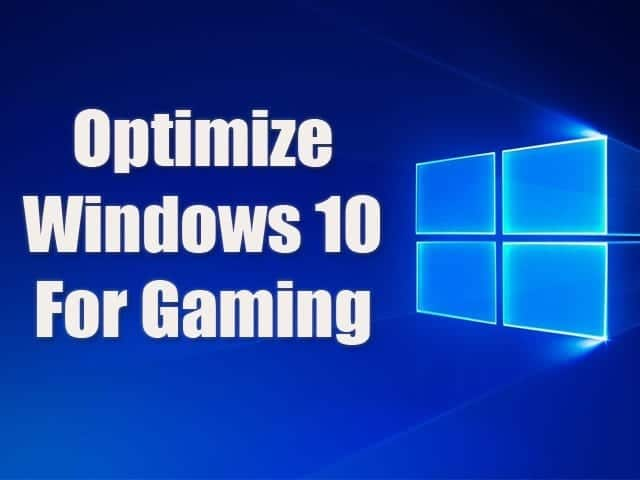how to optimize windows 10 for better gaming in 2019. Black Bedroom Furniture Sets. Home Design Ideas