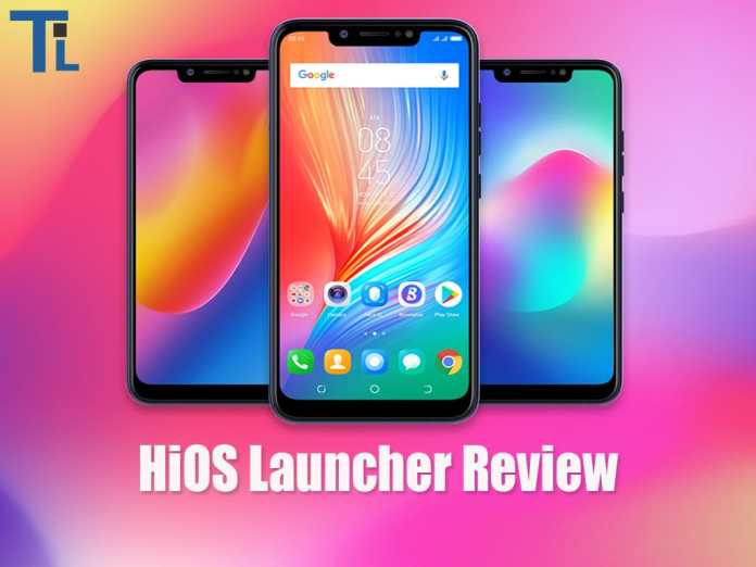 Tecno HiOS Launcher Review