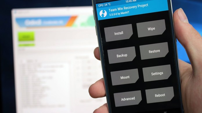 How to create and restore a Nandroid backup using TWRP