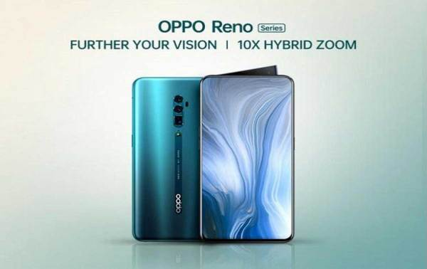 Oppo Reno Launched In India With 10x Zoom & Pricing Starts At Rs 39,990