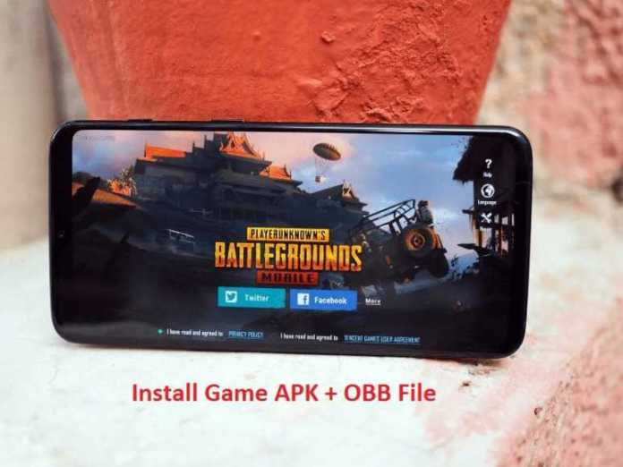 How to Install Game APK having OBB file on Android phone