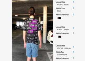 Clothes Designed By Hackers To Fool Automated License Plate Readers