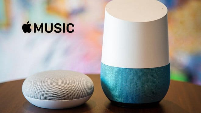 play Apple Music on Google Home
