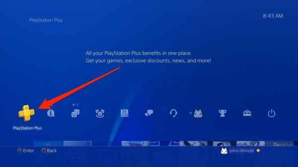 check PlayStation Plus subscription