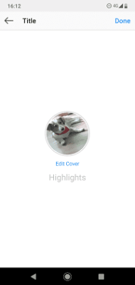 Create Your Instagram Highlights