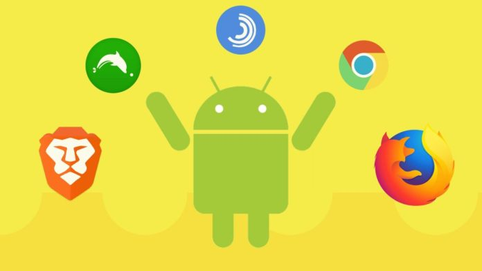 best web browsers android scaled