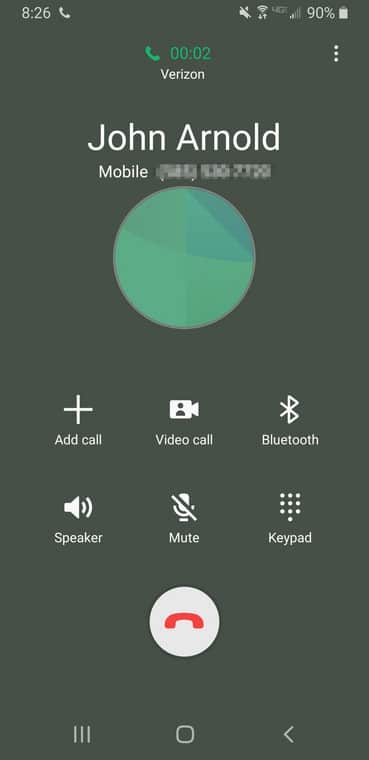 Make Conference Call On Android Phone - Merge Several ...