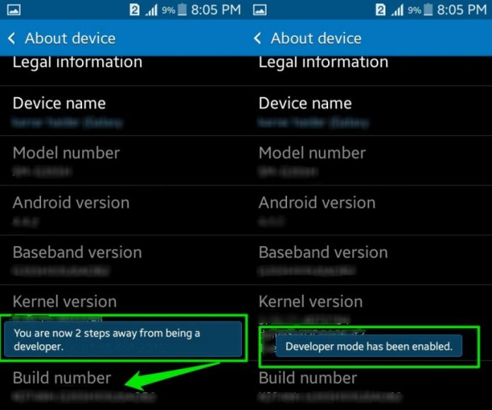 Android Developer Options 2