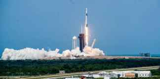 Spacex Launches Astronauts Into Orbit