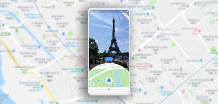 Google Maps Augmented Reality Navigation