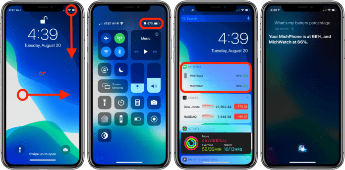 Show Battery Percentage iPhone 11