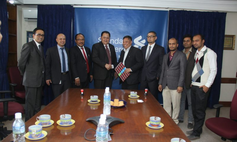 Standard Chartered Bank makes itself the first commercial Bank in Nepal to use the Digital Signature and Certificate (DSC)