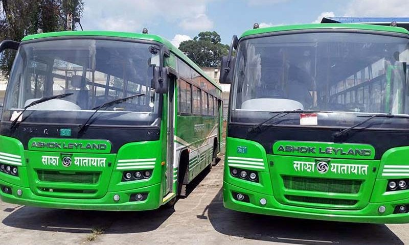 Sajha Yatayat Welcomes its First Semi-Low Floor Bus