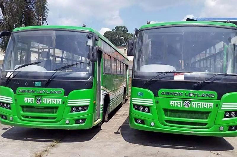 New Sajha Yatayat buses