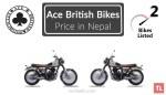 Ace British Bike Price in Nepal