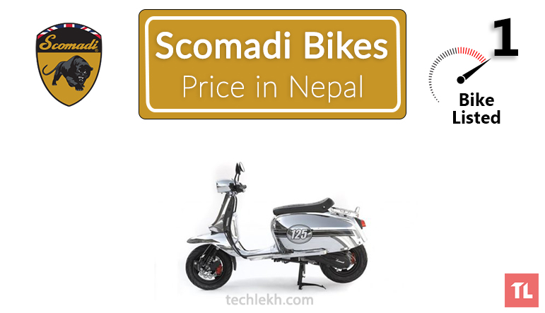 Scomadi bikes price in Nepal