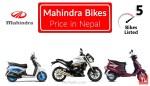 mahindra bike price in nepal