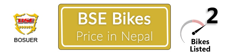 BSE Bikes Price in Nepal