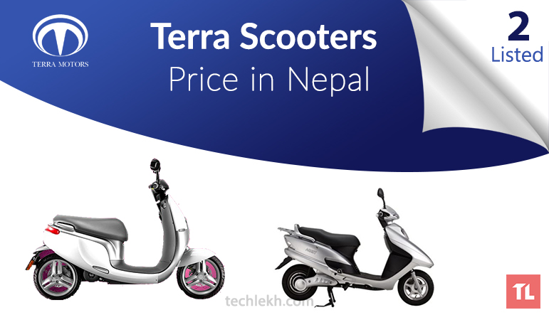 Terra Scooters Price in Nepal | 2017