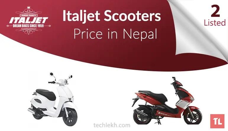 italjet scooter price in nepal