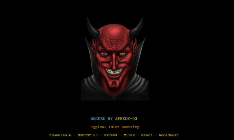 Nepal Television Official Website Gets Hacked [Update]