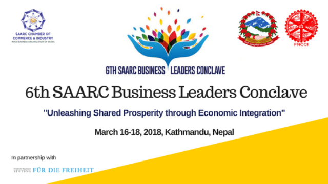 Sixth SAARC Business Leaders Conclave to Take Place in Kathmandu