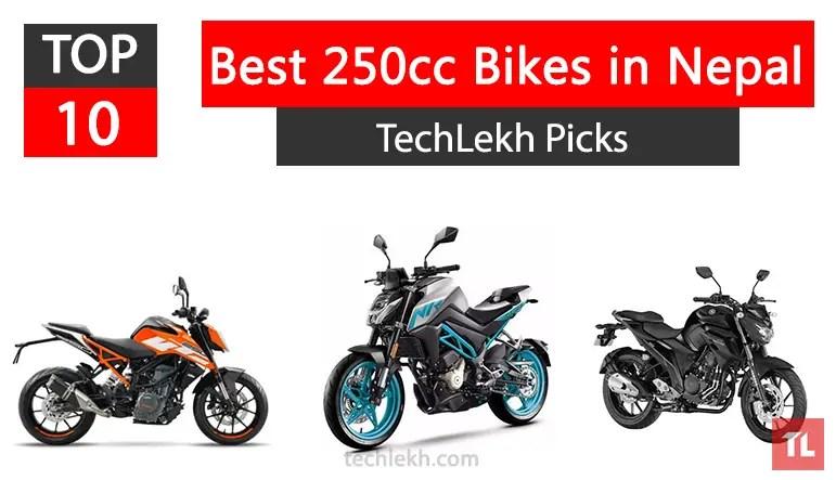 best 250cc bikes in nepal