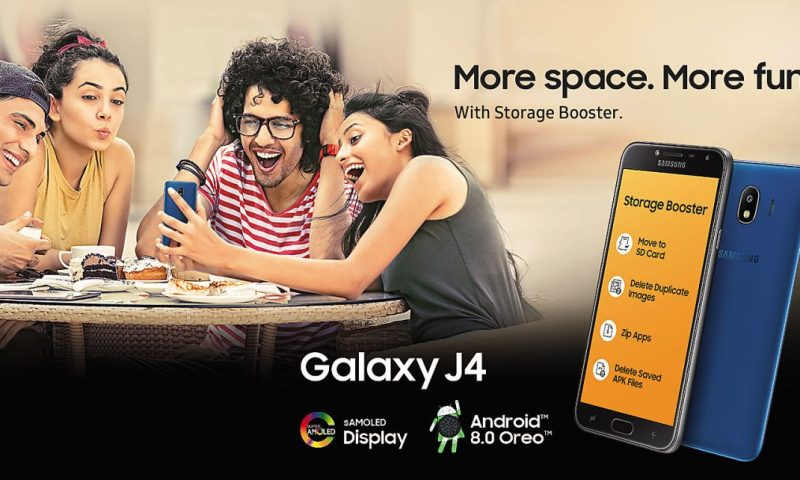 Samsung Galaxy J4 Launched in Nepal with 5.5-inch HD Display, and 13MP Rear Camera