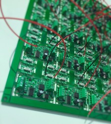 Techline Shock Sensor Module PCB Panel Assembly