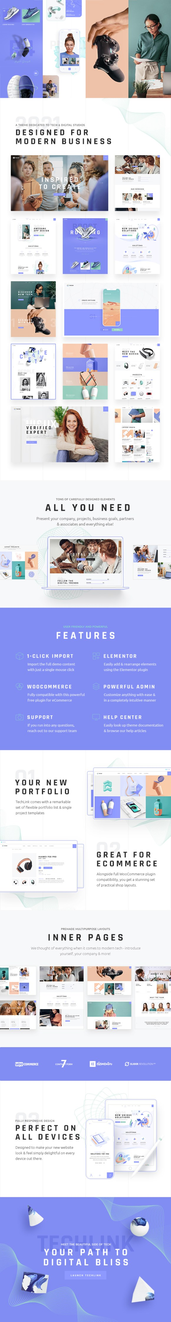 TechLink - Technology and IT Solutions Theme - 2