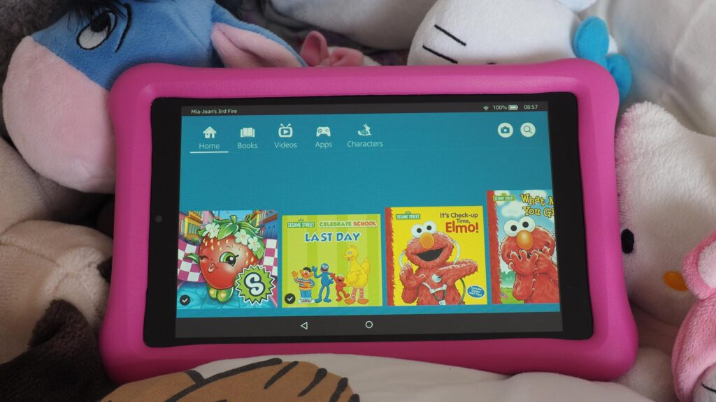 best tablets for kids Amazon Fire HD 8 Kids Edition