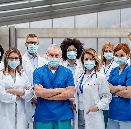 One Surgical Mask