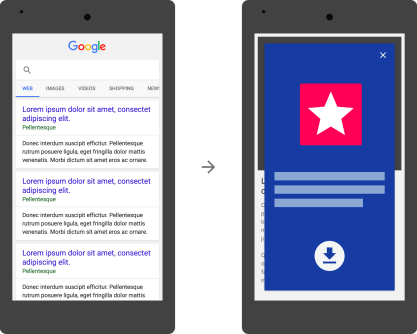 Google To Demote Websites Showing Giant Banner Ads