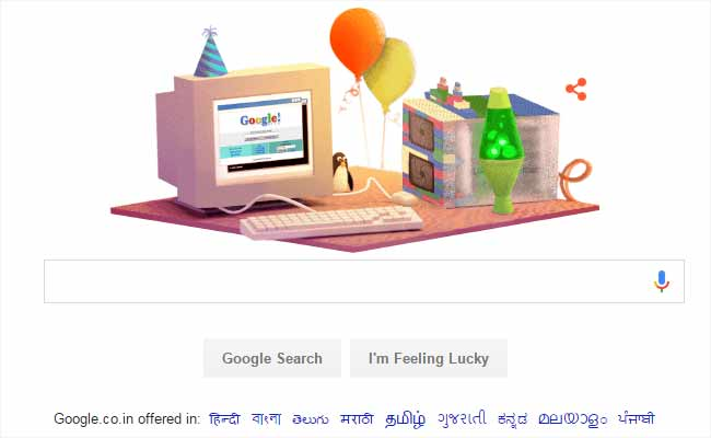 Google Celebrates Its 17th Birthday – A Little Flashback