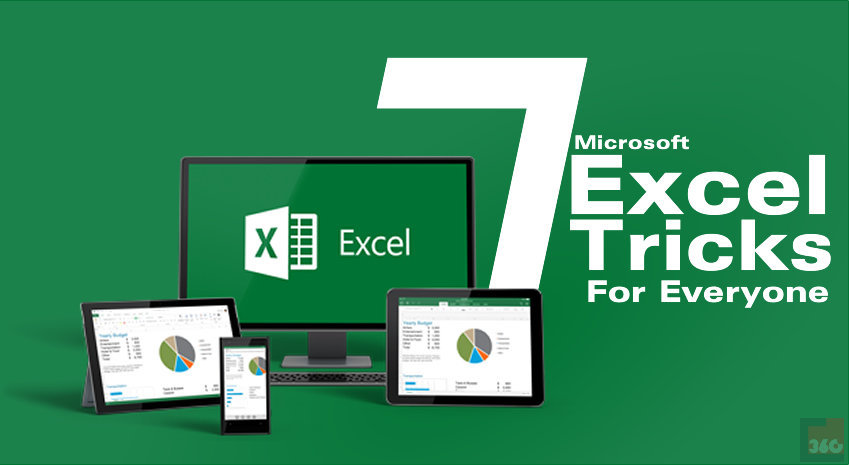[Infographic] 7 Essential Excel Tricks Probably You Don't Know About