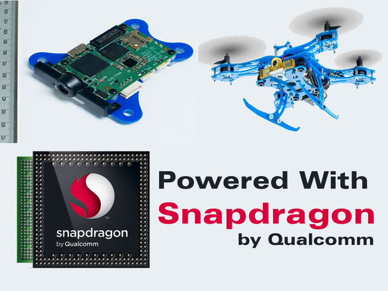 Qualcomm Snapdragon Flight – The Technology To Develop Advance Consumer Drones Ever