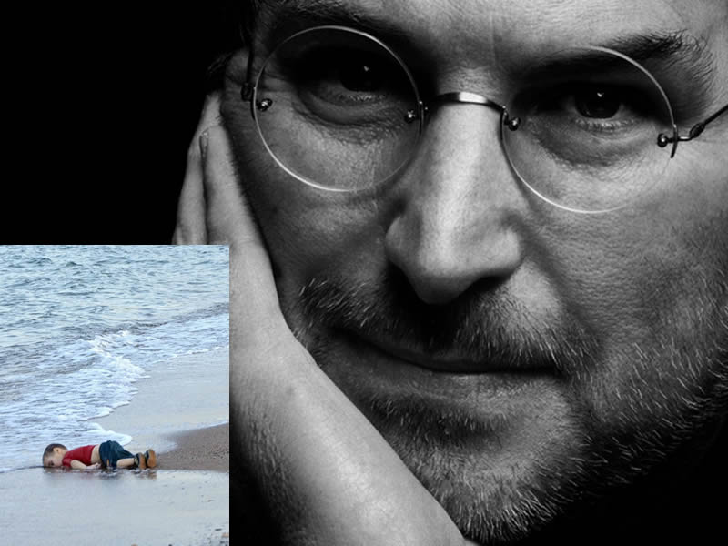 A Tweet That Reminds Steve Jobs was a Syrian Migrant's Child Gone Viral