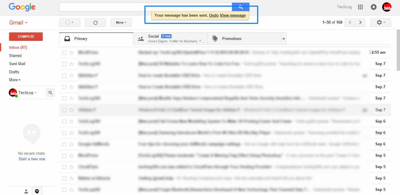 undo send email