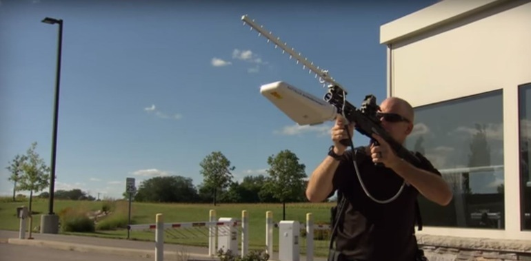A Device To Turn Any Gun Into Anti-Drone Weapon That Shoots Down UAVs With Radio Waves