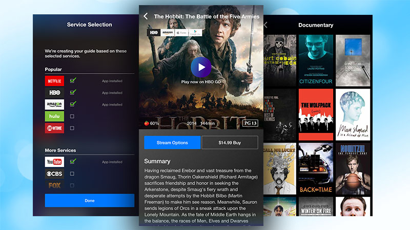 Search Every Video Streaming Services with Yahoo's New App