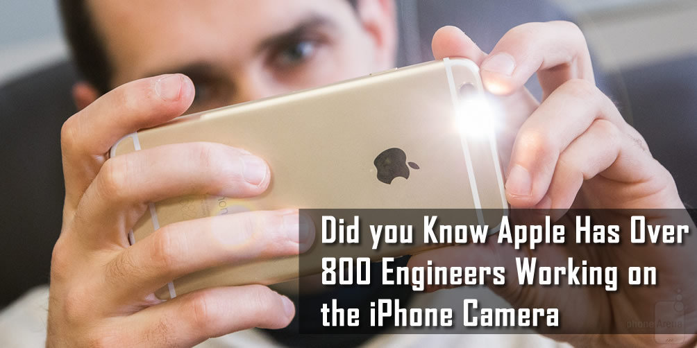 Did you Know, Apple Has Over 800 Engineers Working on the iPhone Camera