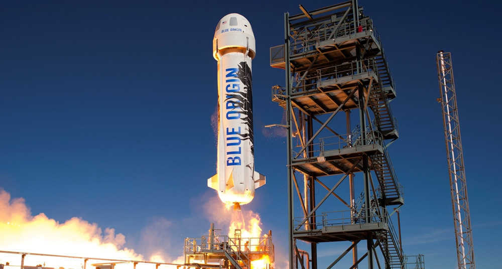 Jeff Bezos' Blue Origin Beaten SpaceX To Became First Company To Re-Launch And Land Its New Shepard Rocket Back To The Earth