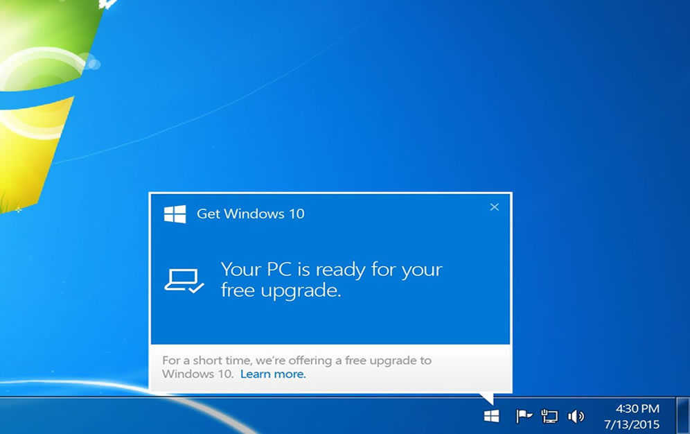 Microsoft Published Official Way to Hide Windows 10 Upgrade Prompts in Windows 7 and Windows 8.1