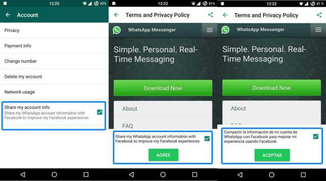 WhatsApp Want To Share Your Data With Facebook