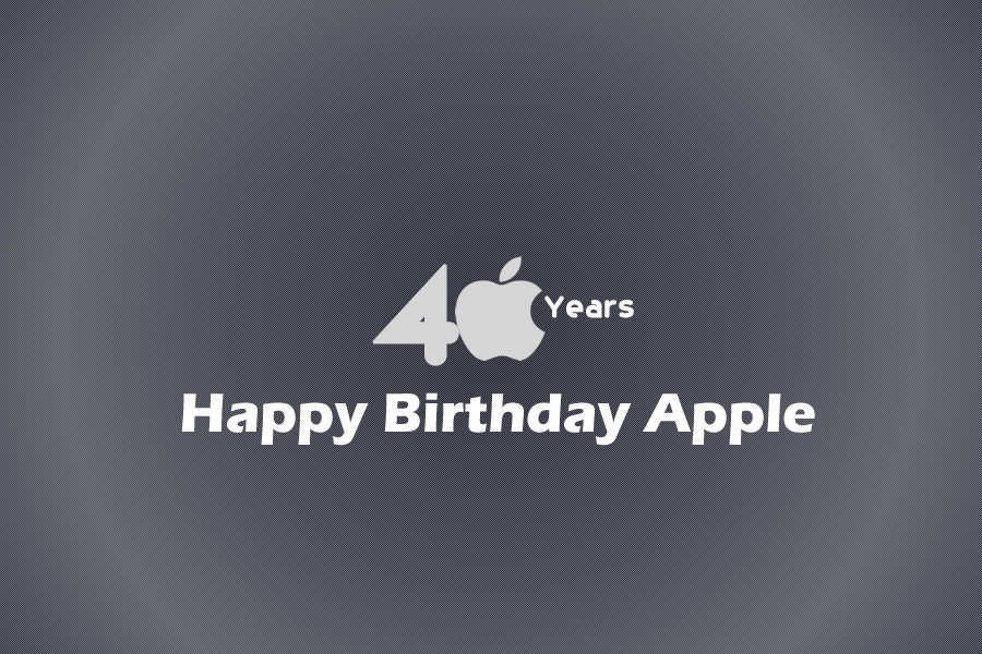 Apple celebrates its 40th anniversary – Here are some vital moments in Apple's journey