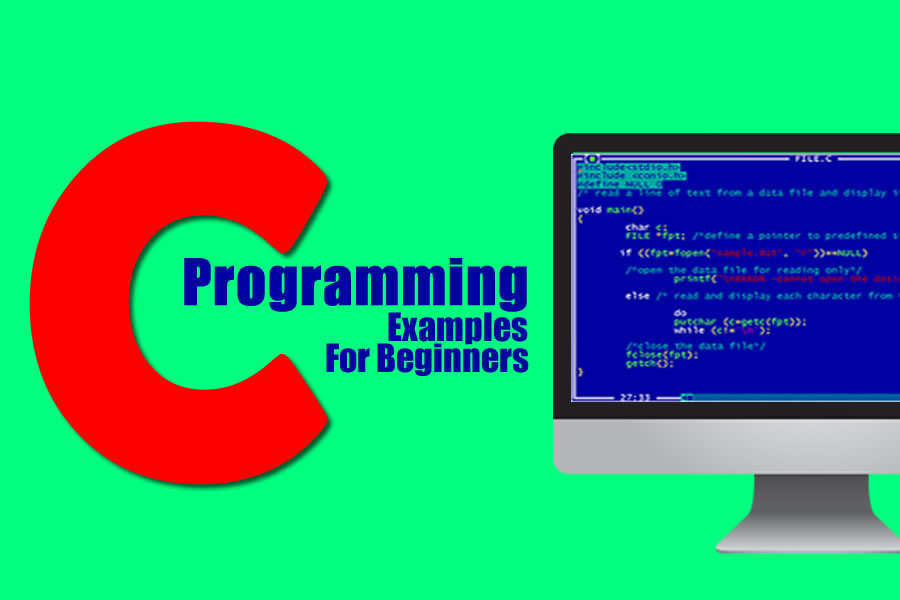C Programming Examples for Beginner