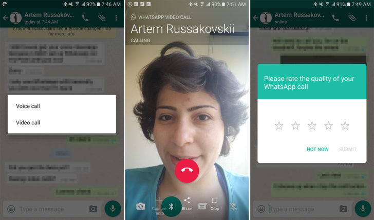 Finally WhatsApp Video Call Feature Now Live On Android